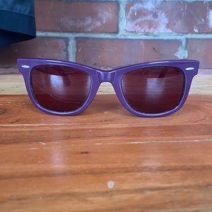 Wayfarer Ray Ban Sunglasses (Purple / Pink)